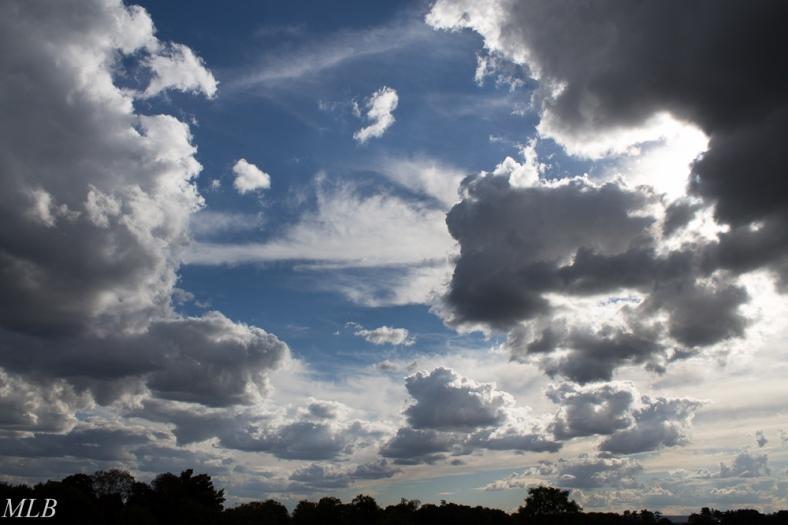 Course des nuages